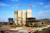 cement factory silo by slip formwork system